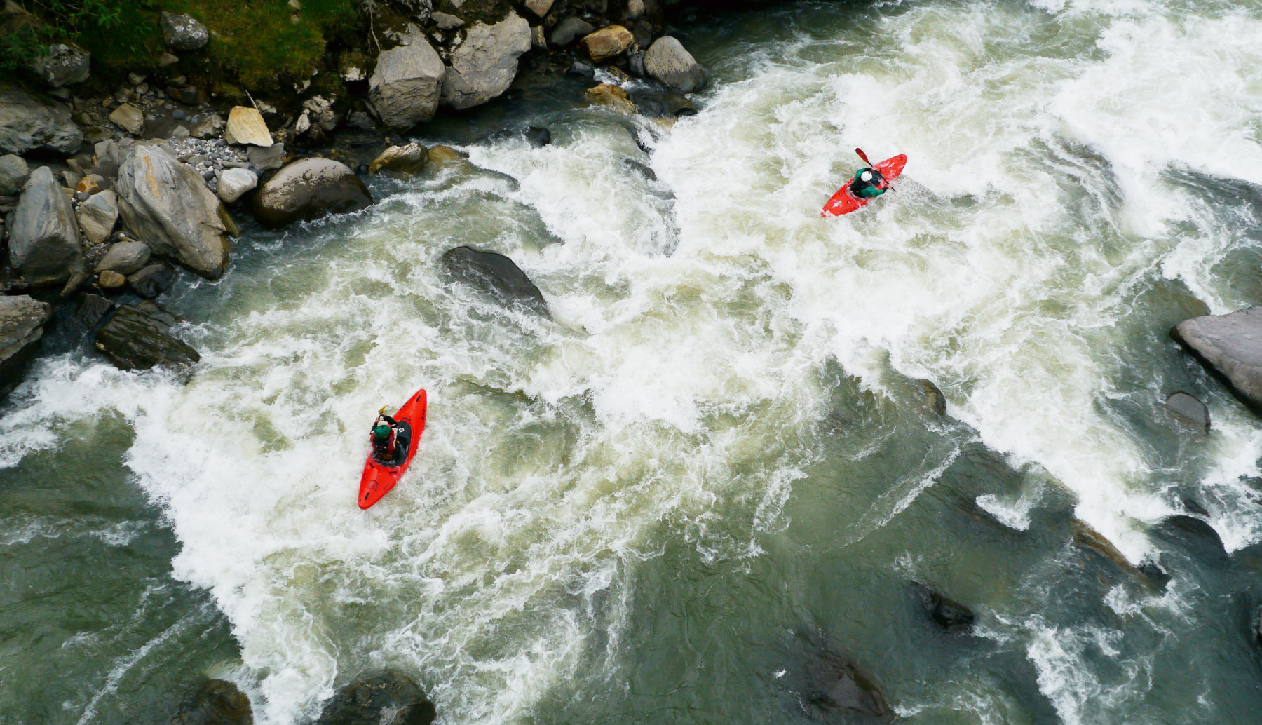 Whitewater kayak Ecuador | Kayak Guided trip Ecuador