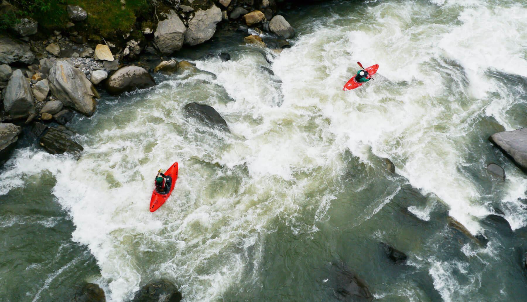 Whitewater kayak Ecuador | Kayak Guided trip Ecuador