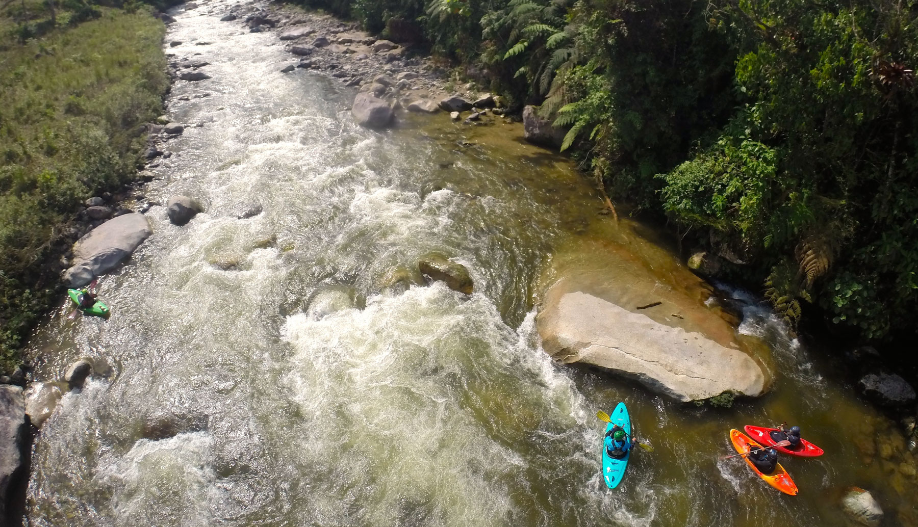 whitewater kayak ecuador | kayak guided trip south america