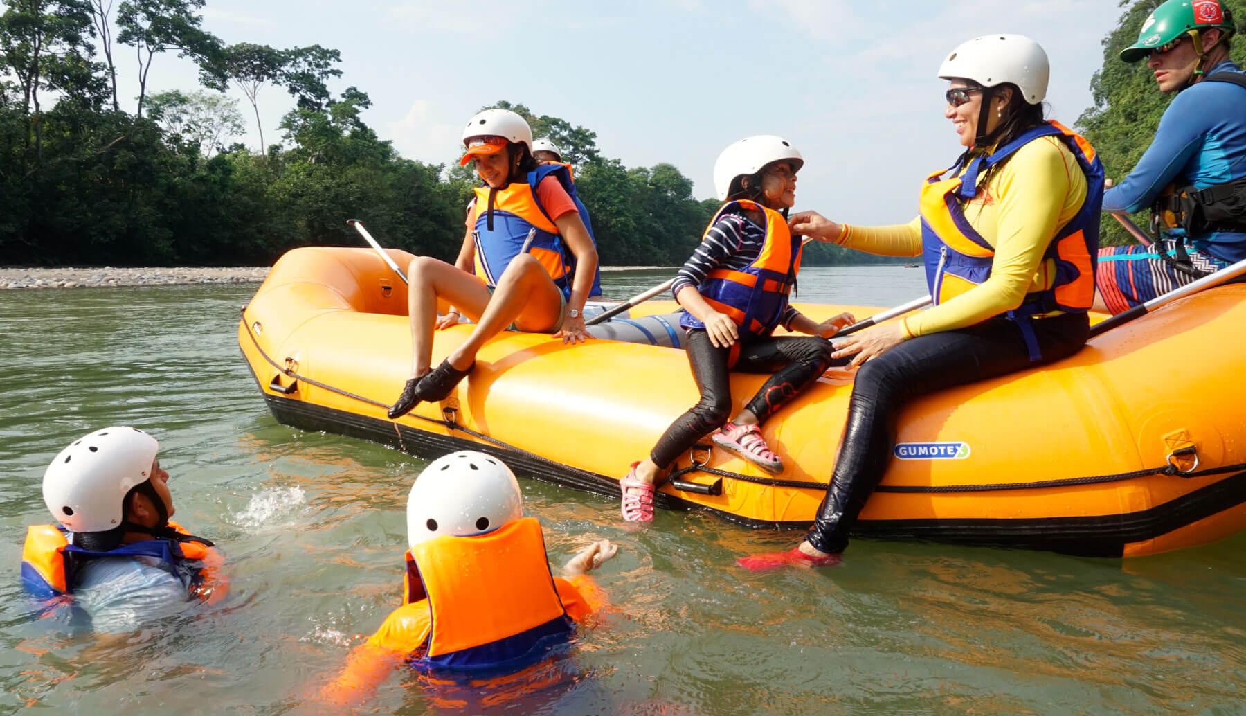 rafting para principiantes