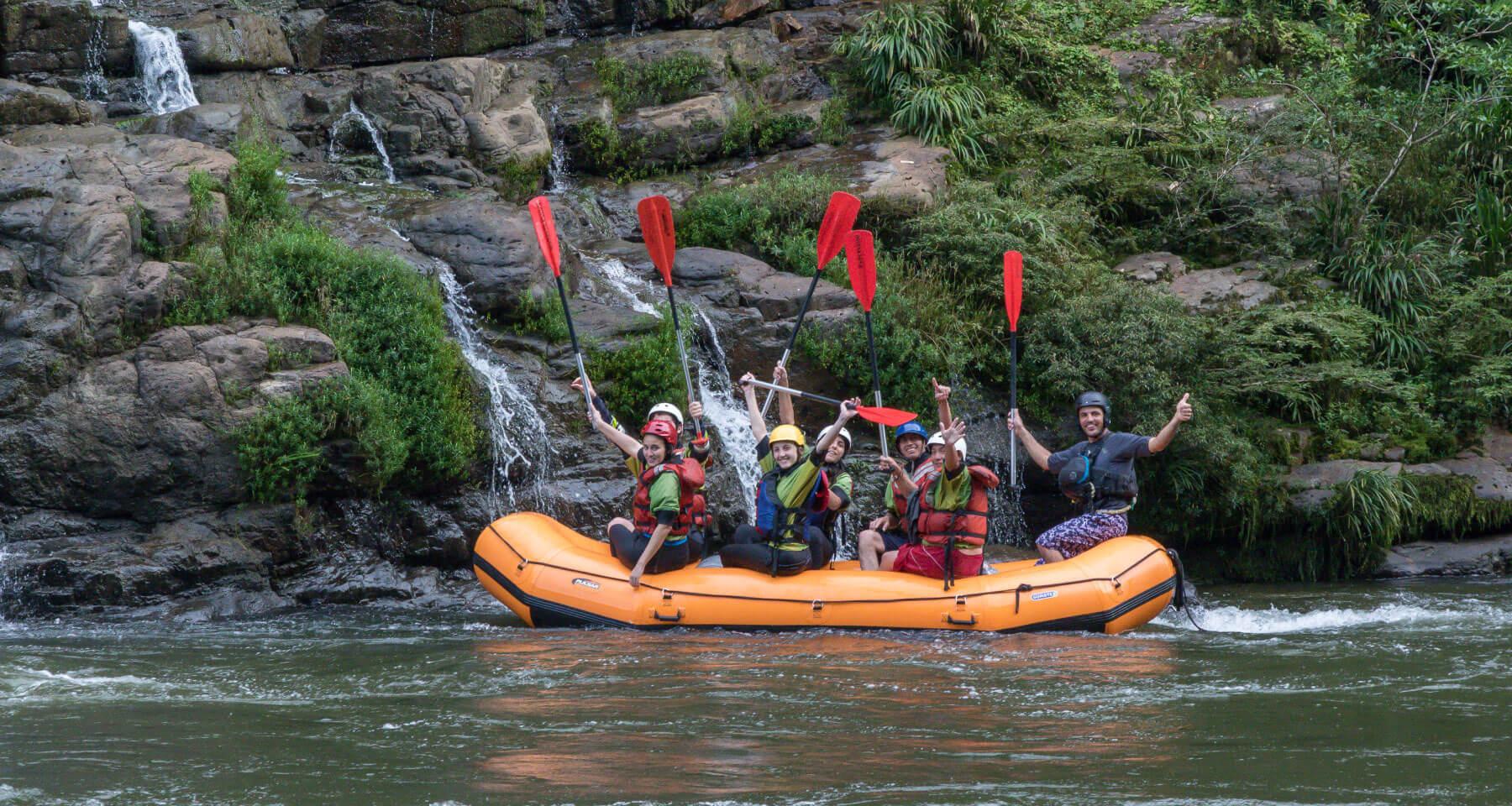 Rafting trip, 2 days in Napo, Tena. Ecuador in Southamerica