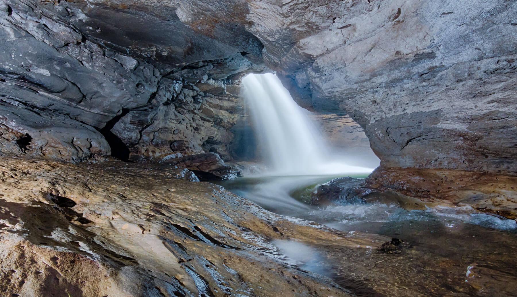Gran Cañon del Jondachi waterfall
