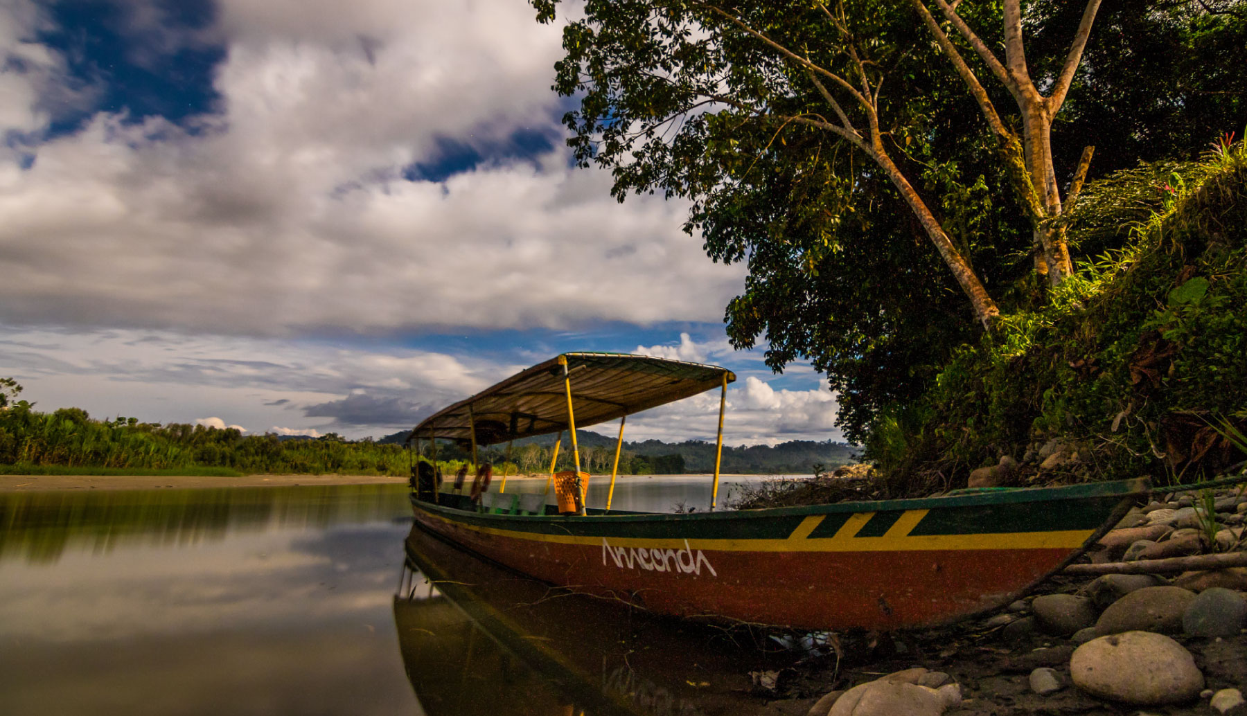 Anaconda Lodge Canoe