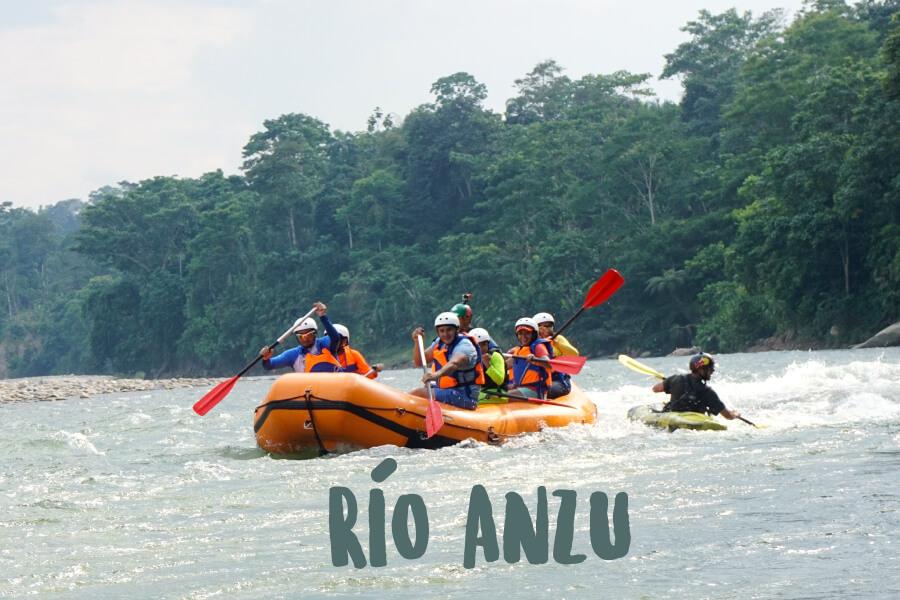 Rafting Ecuador   Río Anzu   Turismo Aventura   Kayak Ecuador