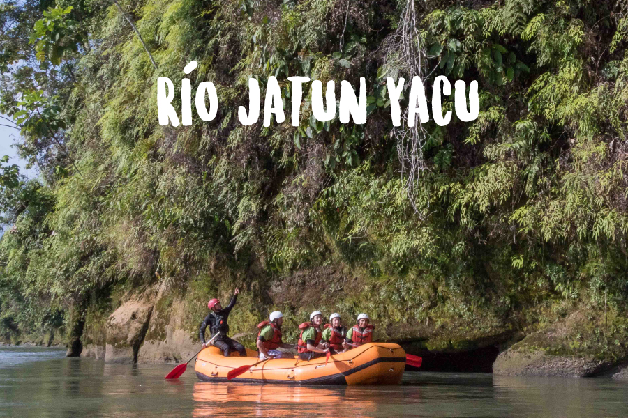 Rafting Ecuador   Río Jatun Yacu   Turismo Aventura