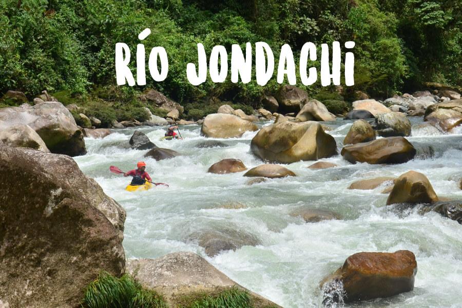 Rafting Ecuador   Río Jondachi   Turismo Aventura