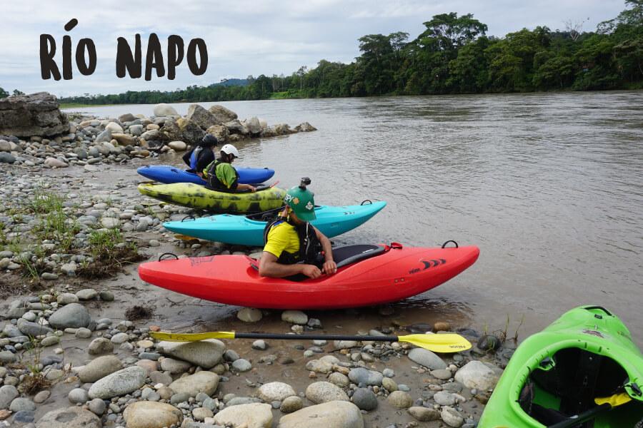 Rafting Ecuador   Río Napo   Turismo Aventura   Kayak Ecuador