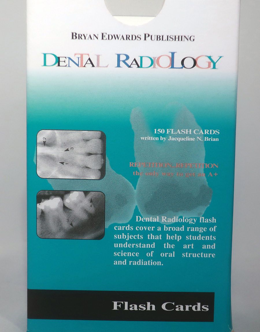 Dental Radiology flash cards - bryanedwards.com