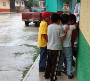 Boys in Mexico Outside