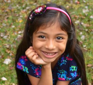 Girl Happy Fall