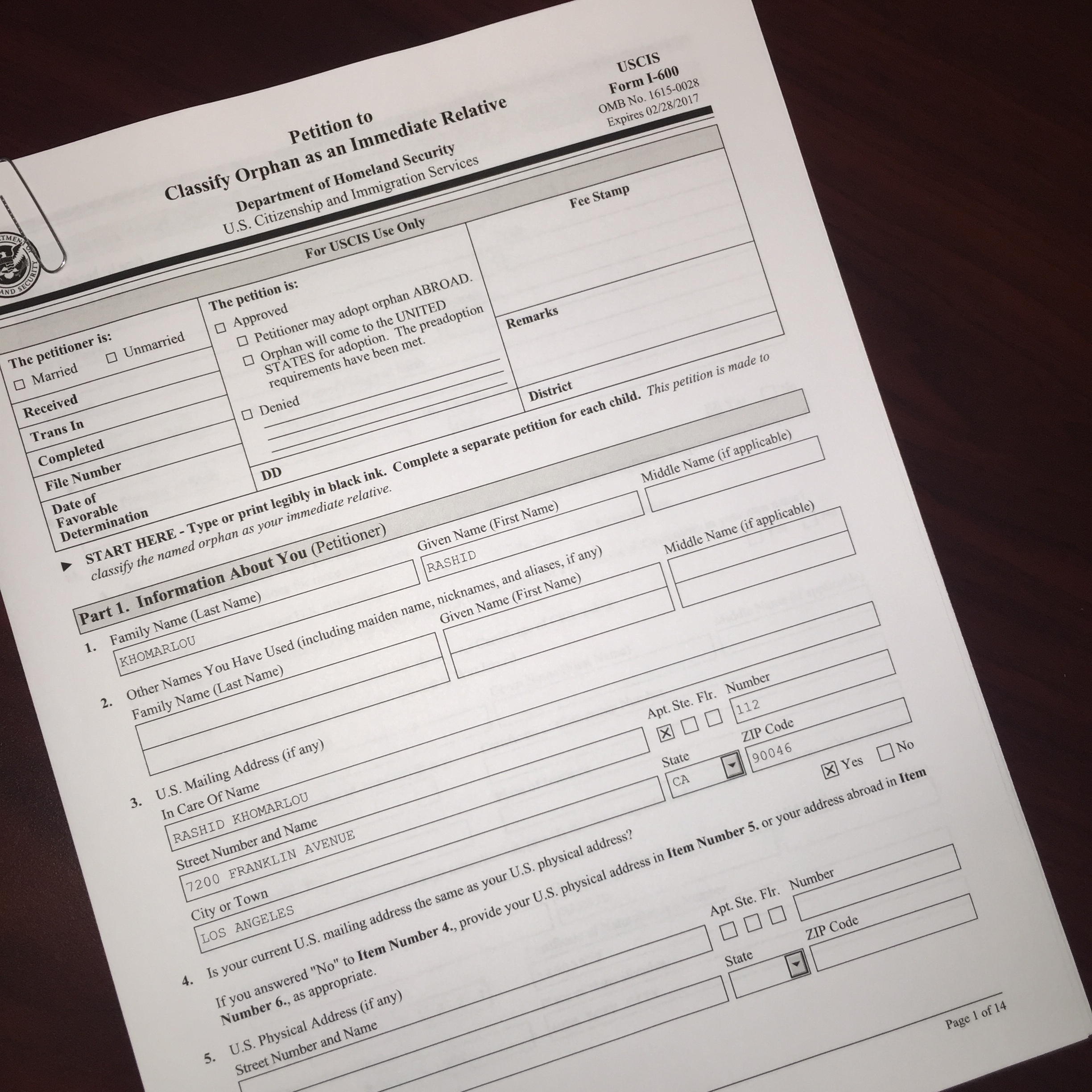 Proposed Fee Increases for USCIS - »