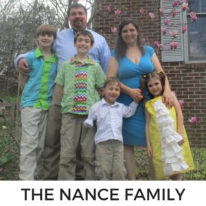 NANCE FAMILY