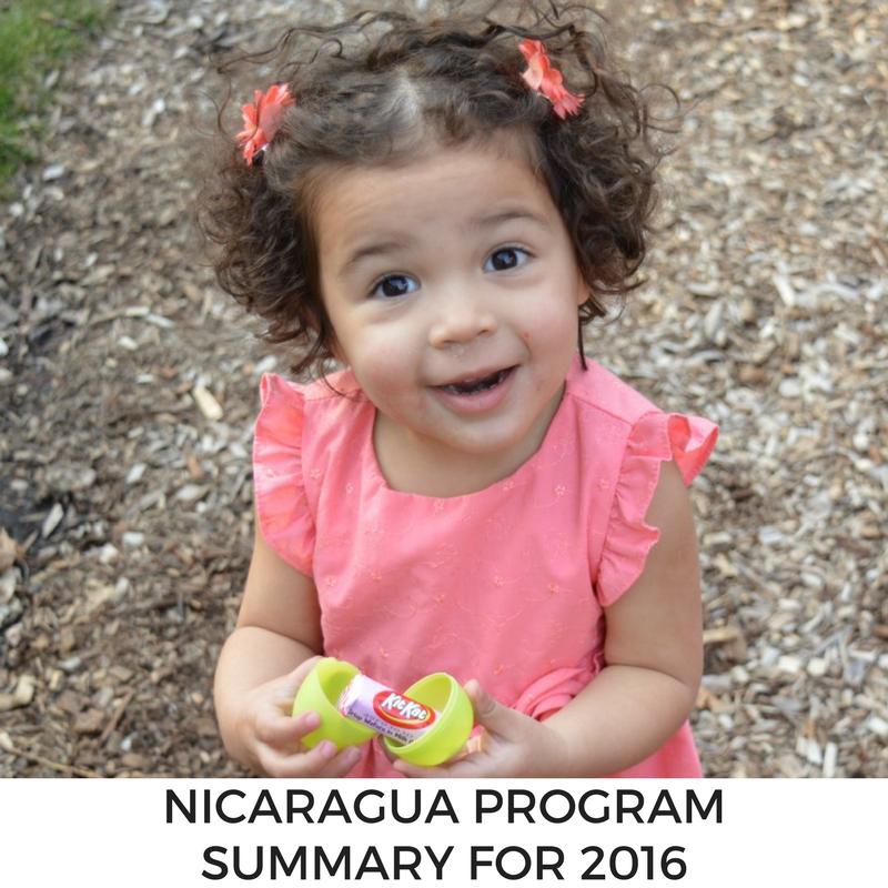 Nicaragua Program Summary for 2016
