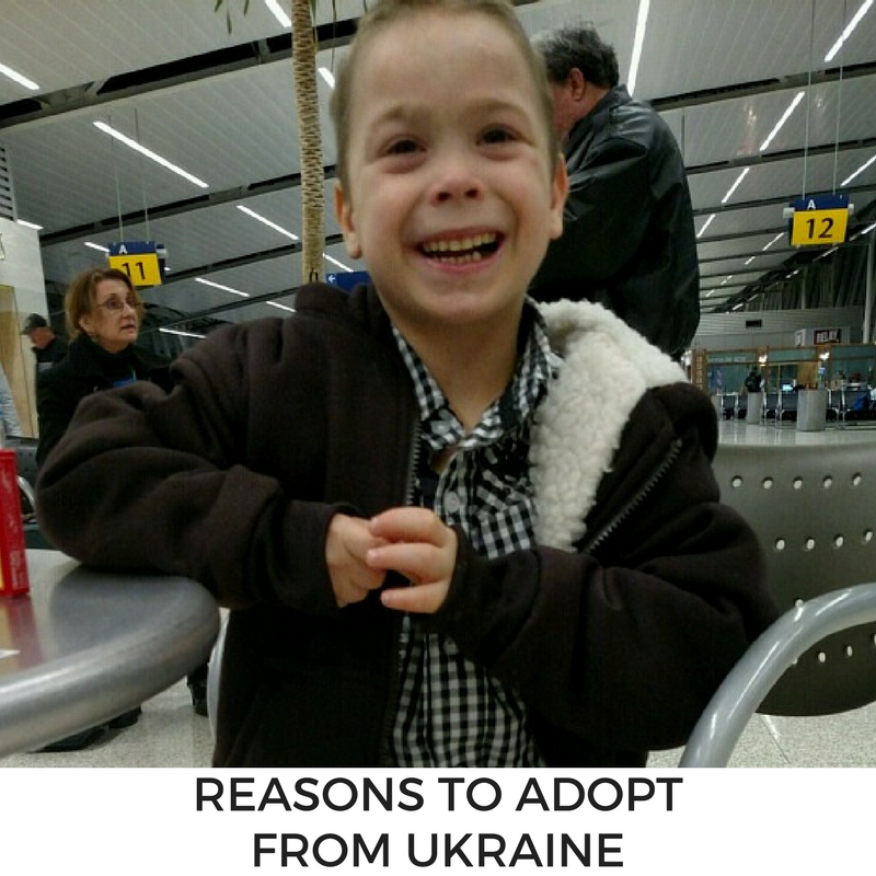 Considering international adoption? There are many reasons to adopt from Ukraine!