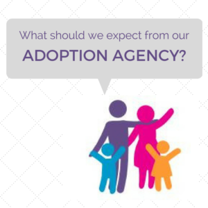 Managing expectations for your adoption agency is important!