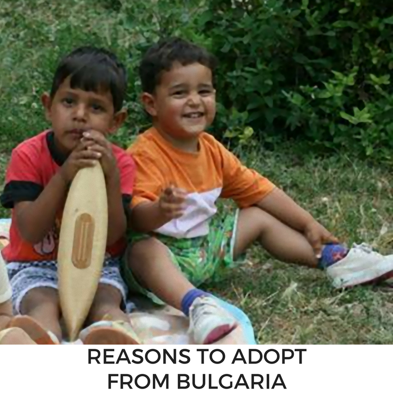 reasons to adopt from Bulgaria