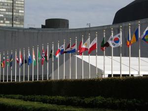 world flags UN