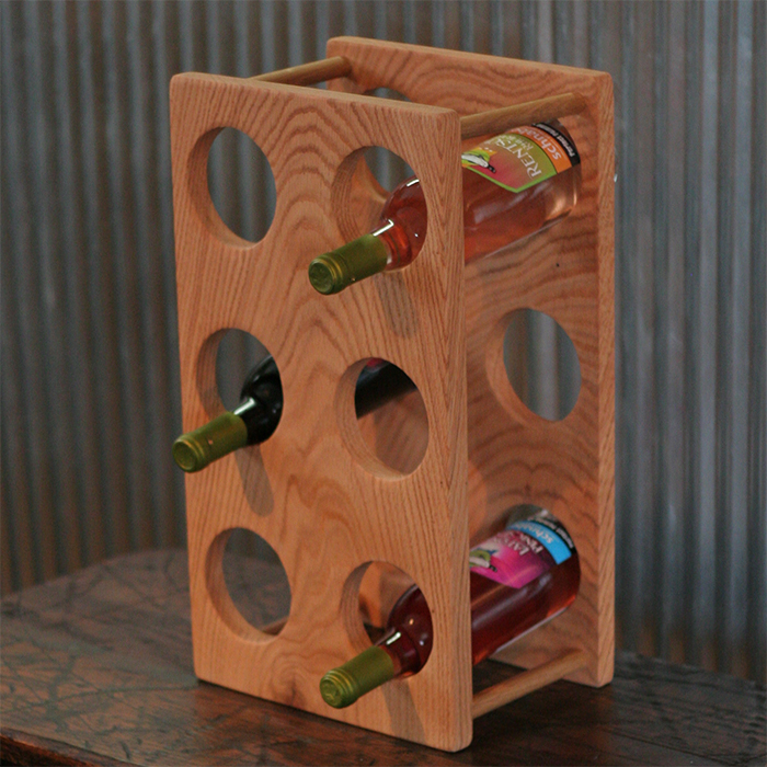 Standing Wine Rack 1