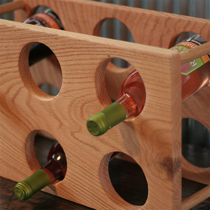 Standing Wine Rack 2