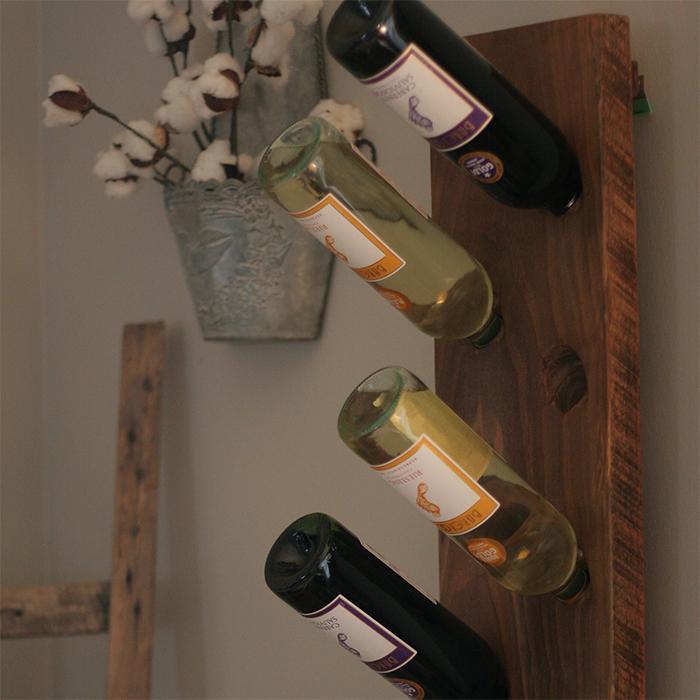 Wood Wine Rack 2