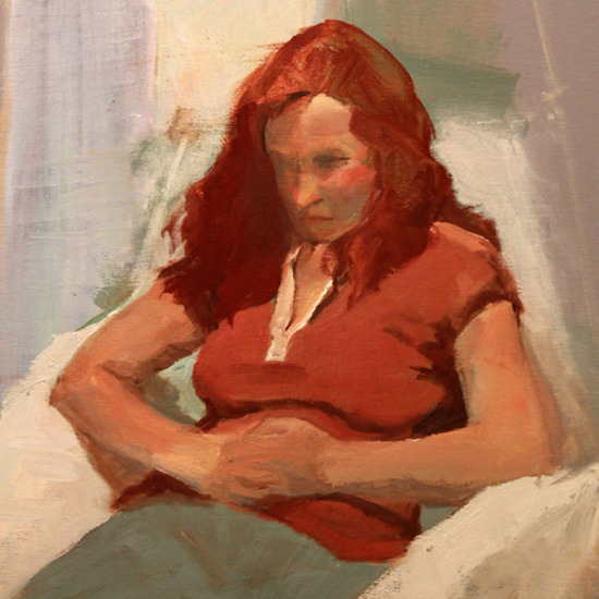 Poem Oil Painting