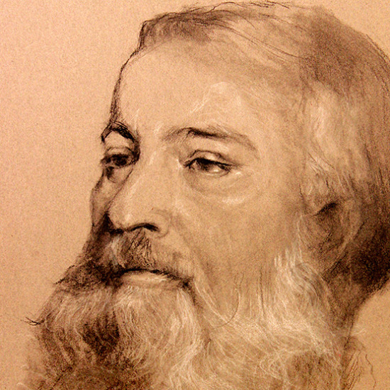 Historical Novelist Pencil Drawing