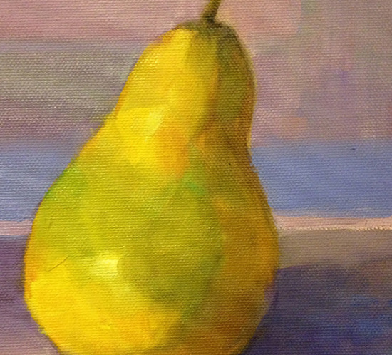 Pear Study Oil Painting