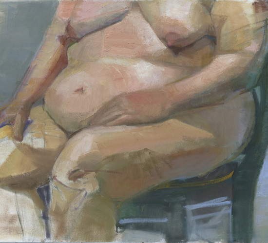 Torso Oil Painting