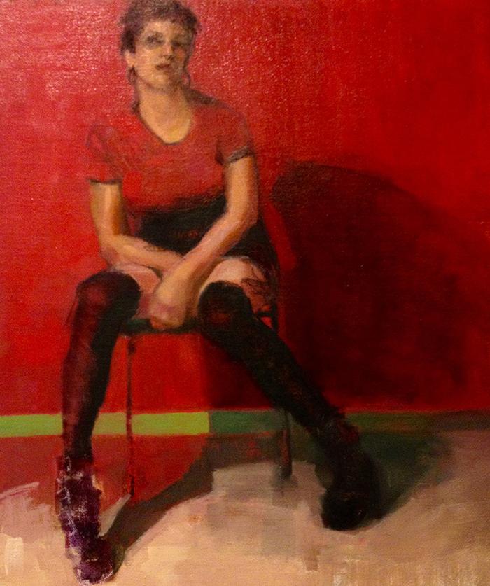 Color Figure Oil Painting