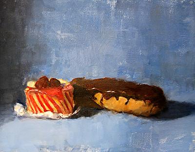 Desserts Still Life Painting Barbara Hyman