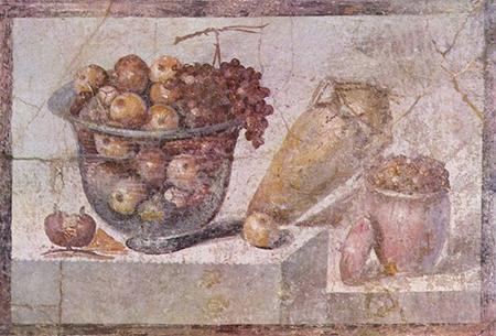 Greek Roman Still Life Painting
