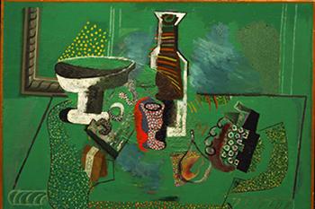 Green Still Life Picasso