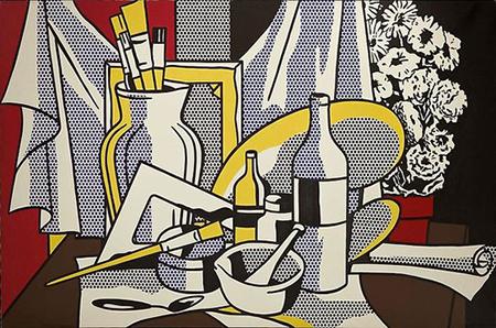 Roy Lichtenstein Still Life Painting
