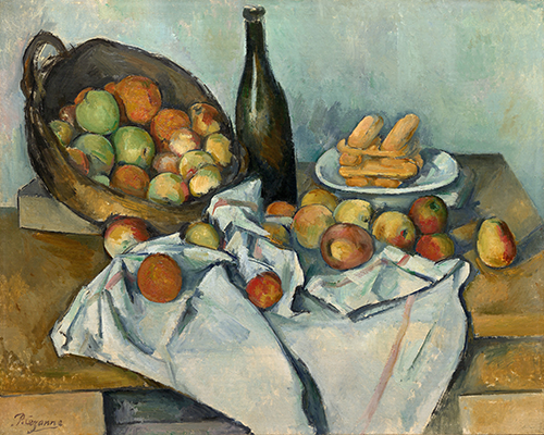 The Baskets of Apples Cezanne