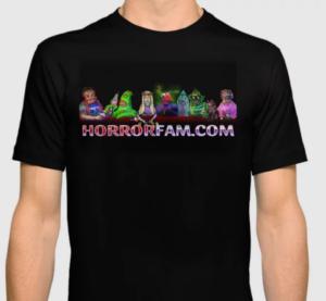 HorrorFam.com Logo T-Shirt