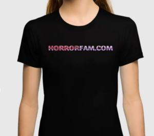 HorrorFam.com URL T-shirt