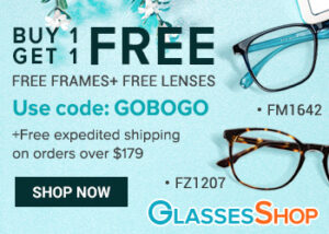GlassesShop.com BOGO Sale