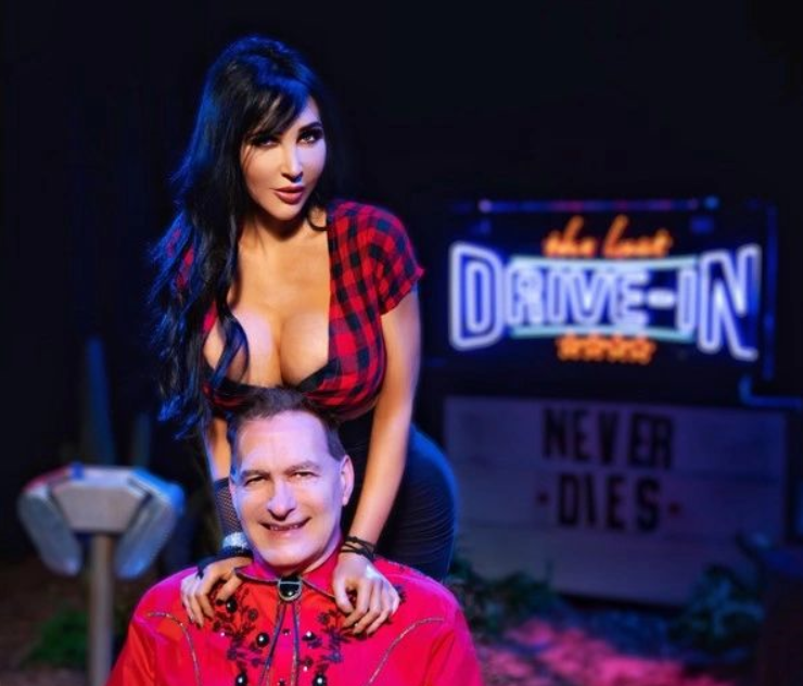 Diana Prince and Joe Bob Briggs!