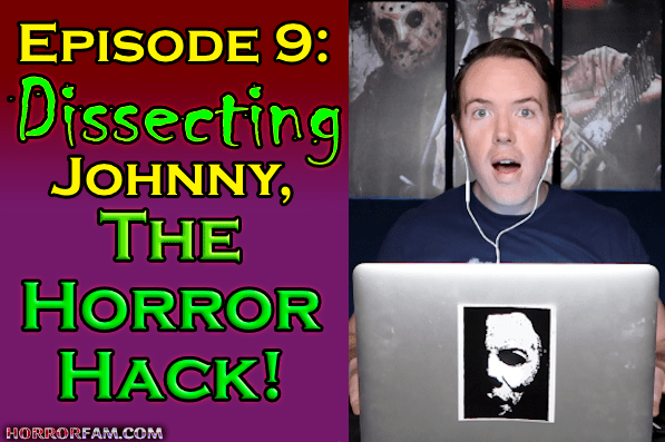 Johnny AKA The Horror Hack podcast title card