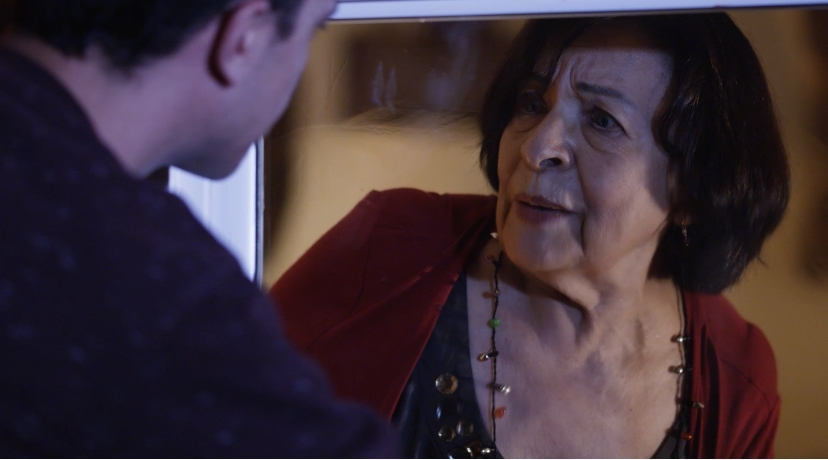 """Virginia Montero as the grandmother in """"La Calavera"""" on Welcome to the Horror Show"""