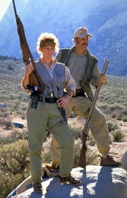 Burt and Heather Gummer in Tremors