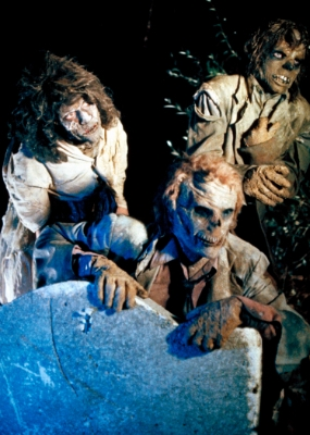 return of the living dead cemetery zombies