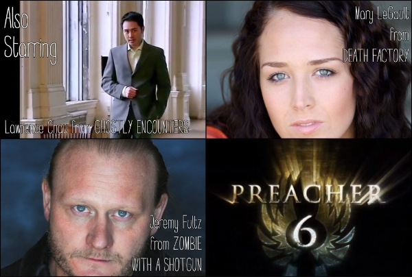 Preacher Six also stars Lawrence Chau, Mary LeGault, Jeremy Fultz, and MORE beloved actors! Check out the full cast list for more details.