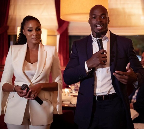 Adrian Peterson charity event at D.C. Prime