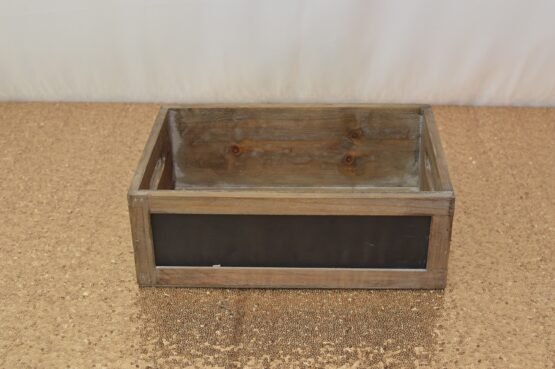 Small Black Crate