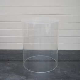 Round Clear Cake Plinth