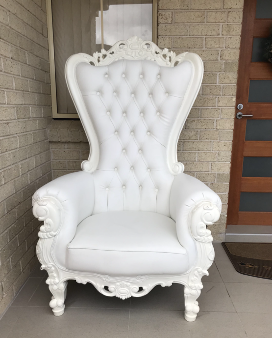 White Bridal Throne