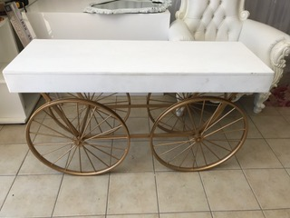 White Market Cart