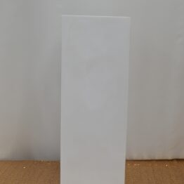 White Square Plinth