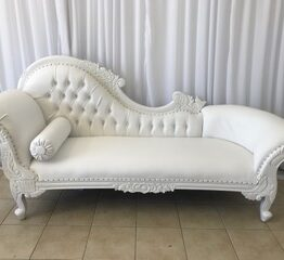 Bridal Chaise Lounge